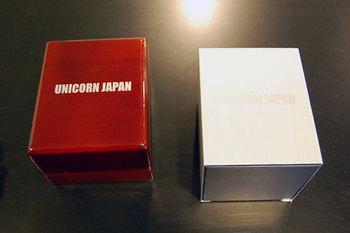 ユニコーンジャパン25周年時計の箱