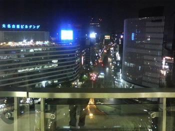 名古屋駅前の夜景.JPG