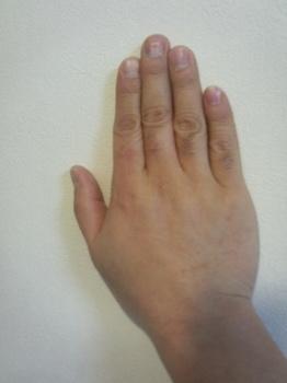 Third finger is longer