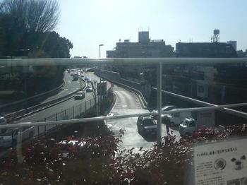代々木PAから4号新宿線上り線