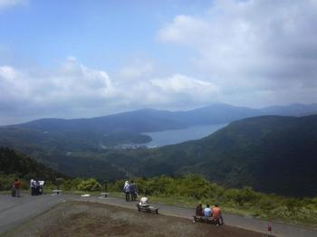 大観山からみた芦ノ湖